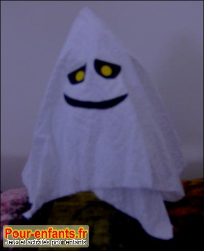Halloween d coration fant me maison bricolage enfant d cor - Fabriquer fantome halloween ...
