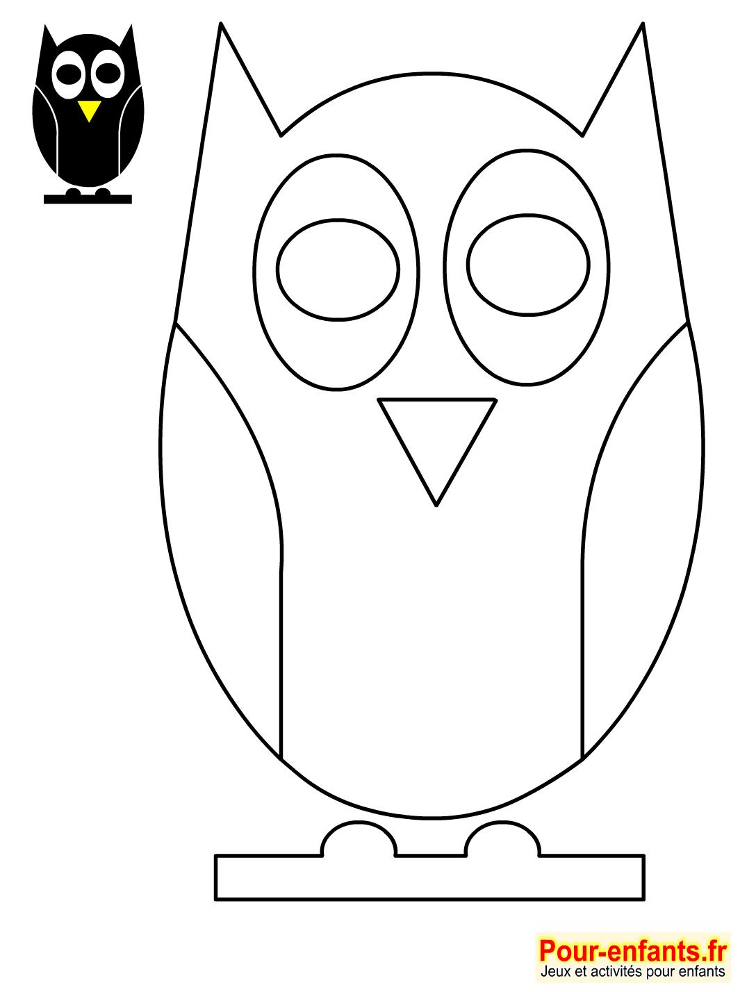 Comment dessiner des hiboux - Hibou en dessin ...
