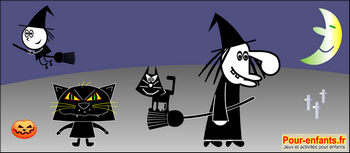 Dessin Halloween enfants
