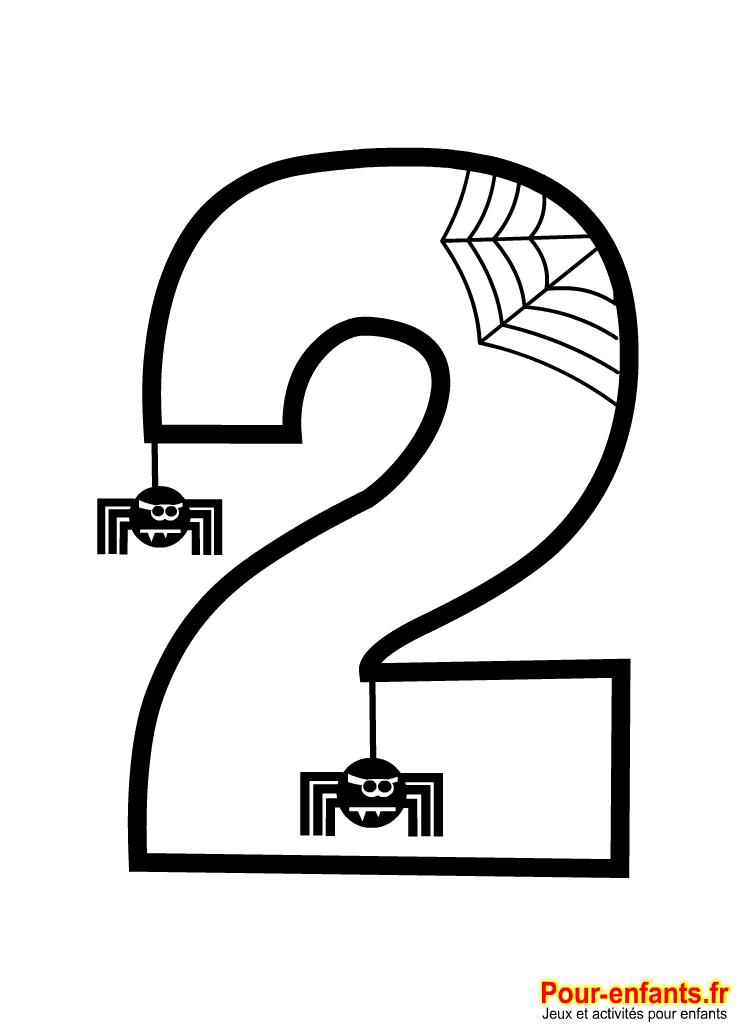 Chiffres et nombres en maternelle reconna tre ecrire - Chiffre a colorier ...