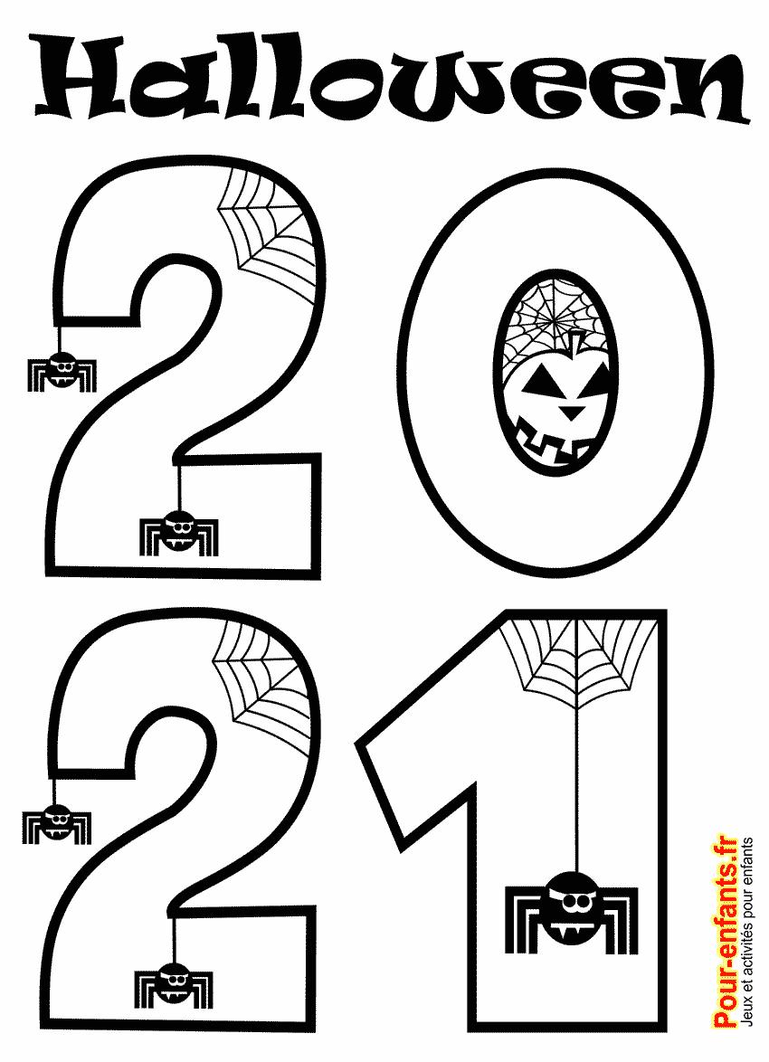 halloween 2021 date à imprimer
