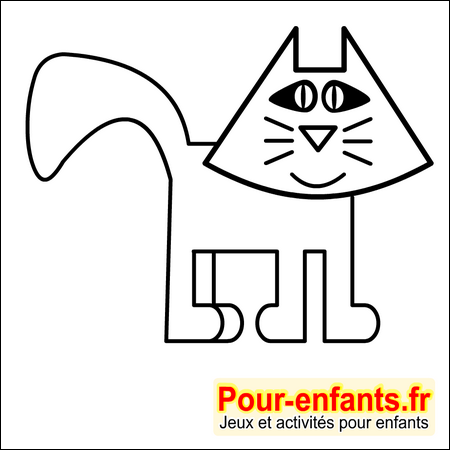 dessin de chat imprimer dessins coloriages de chats halloween dessiner chats. Black Bedroom Furniture Sets. Home Design Ideas
