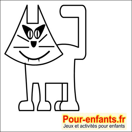 Dessins de chats imprimer dessin coloriages de chats - Jeux de coloriage de chat ...