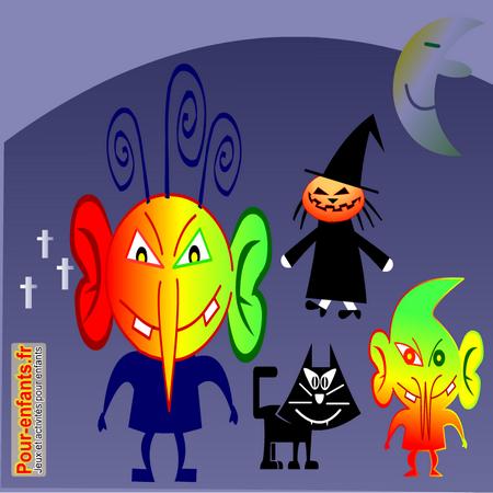 Dessins de monstres dessin monstre halloween dessiner monstres - Dessins de monstres ...
