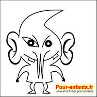 Dessins de monstres dessin monstre halloween dessiner monstres en couleur - Dessins de monstres ...