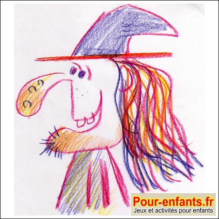 Dessins De Sorcières Dessiner Au Crayon Dessin De Sorciere