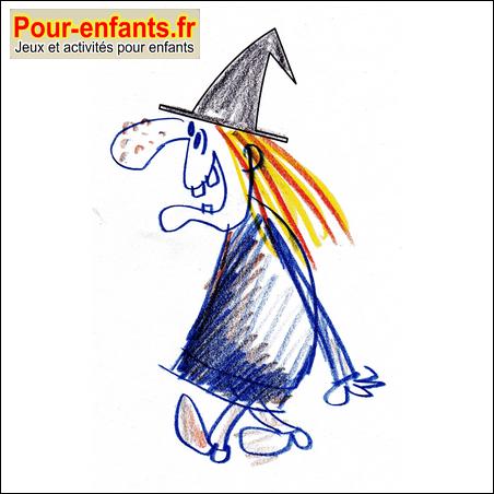 Dessin d une sorciere - Comment dessiner goldorak ...