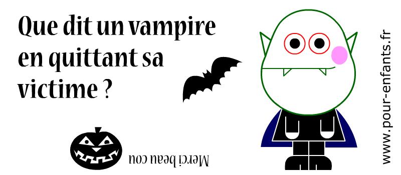 Devinettes pour halloween devinettes sur les vampires - Le jeux de la sorciere qui fait peur ...