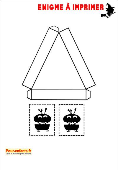 Beliebt Enigmes idées activités Jeux à imprimer Halloween bricolage  NO23