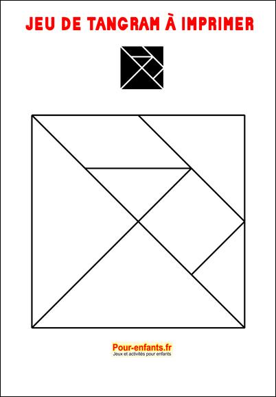 tangram à imprimer maternelle gratuit