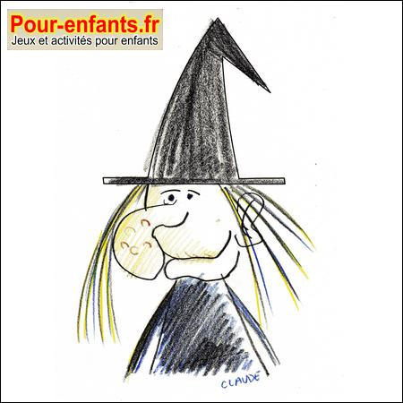 Jeux halloween jeux de puzzle sorci re jeu gratuit imprimer puzzles jouer sorcieres gratuits - Comment dessiner un fantome pour halloween ...