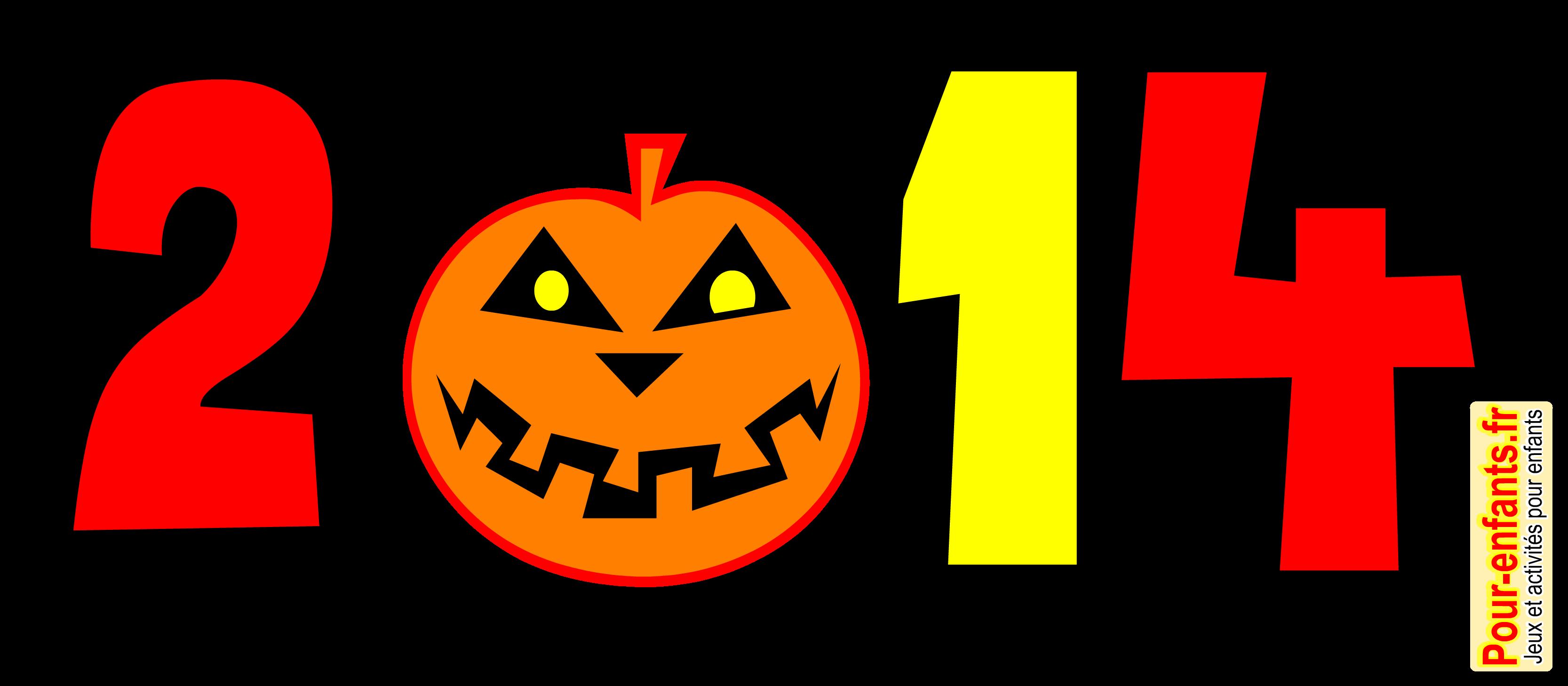 Halloween 2014 Dessin Date A Imprimer Dessins Citrouille Coloriage